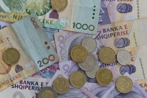 מטבע מקומי באלבניה
